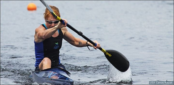 Kaitlyn McElroy, K1 World Sprint Championships